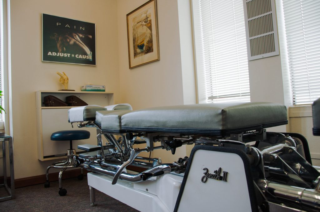 Martin Chiropractic Center Chiropractor Table
