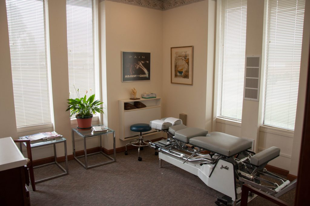 Martin Chiropractic Center Patient Room