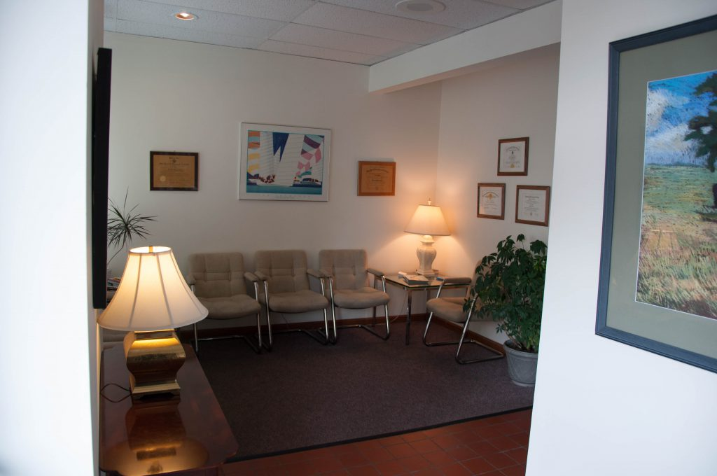 Martin Chiropractic Center Waiting Room